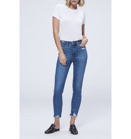 Paige Hoxton High Rise Ankle Skinny- Jazlyn Destructed