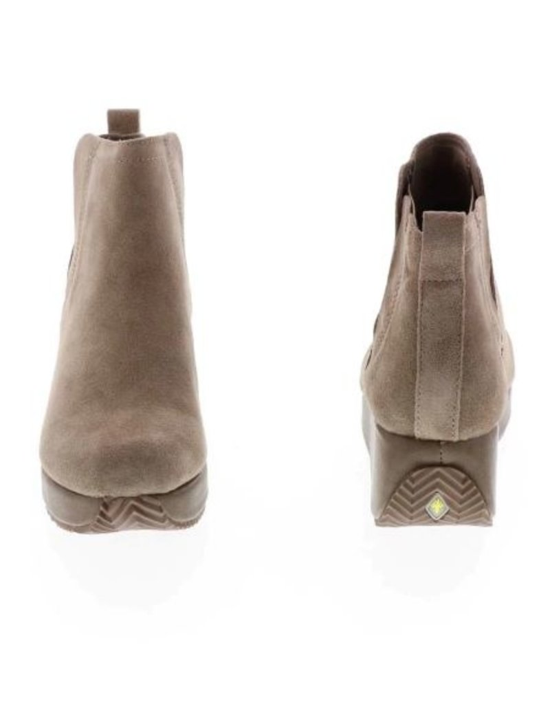 Very Volatile Burlingham Wedge Bootie - Taupe