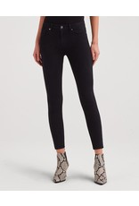 7 for All Mankind B(air) Ankle Skinny - Black