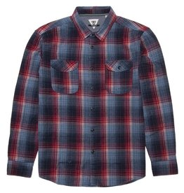 Vissla Central Coast Flannel - Breaker Blue