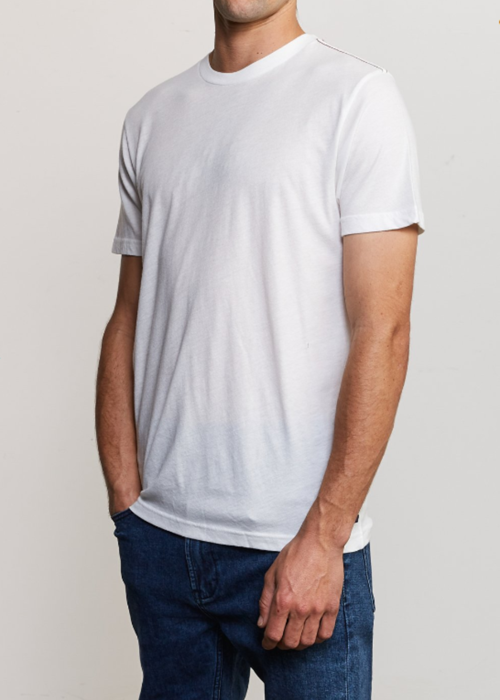 RVCA Solo Label Tee - White