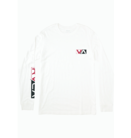 RVCA Lateral Long Sleeve - Antique White