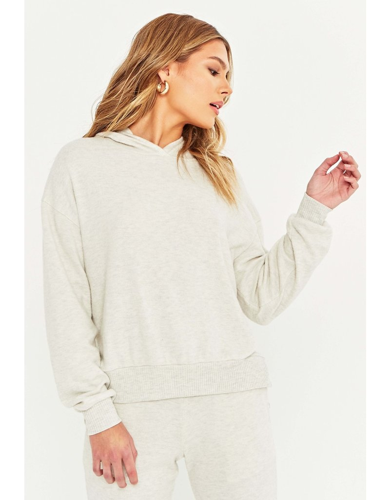 Project Social T Townsend Cozy Hoodie - Oatmeal