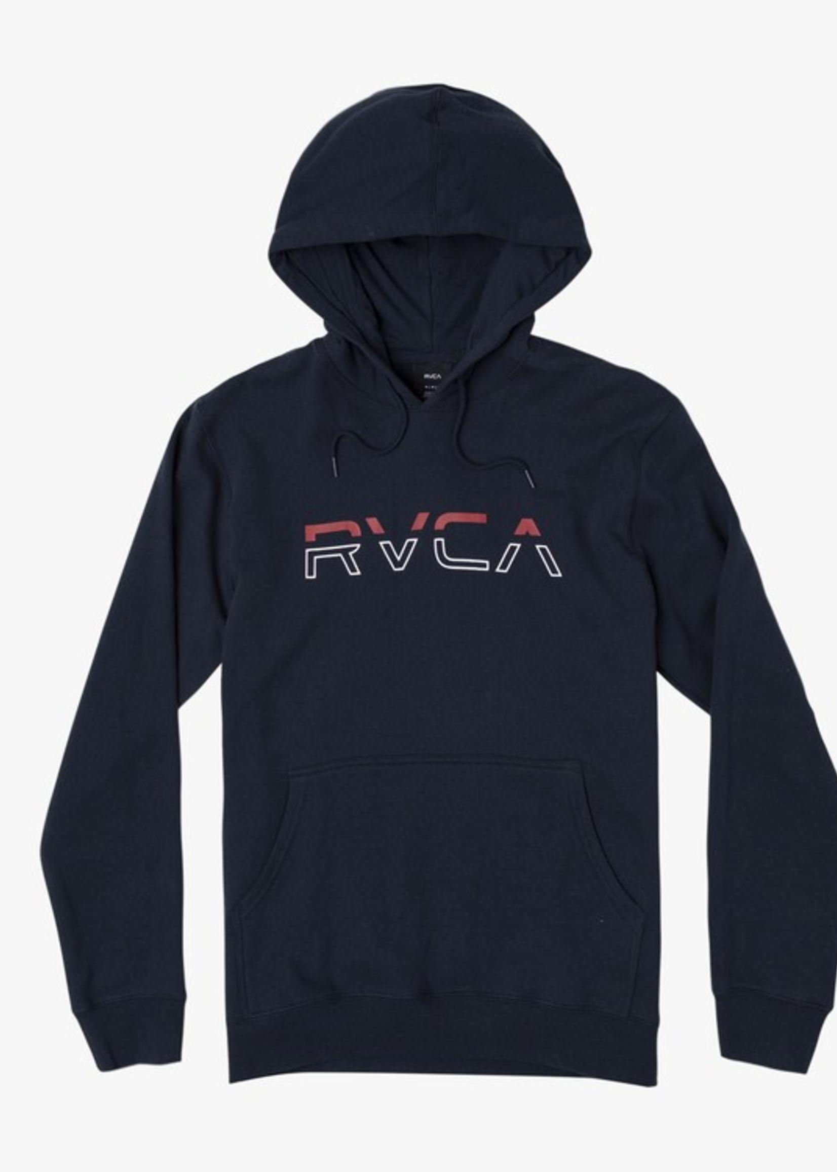 RVCA Split Pin Hoodie - Navy