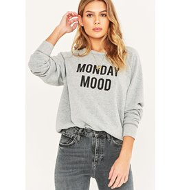 Project Social T Monday Mood/Friday Feels Reversible Crew
