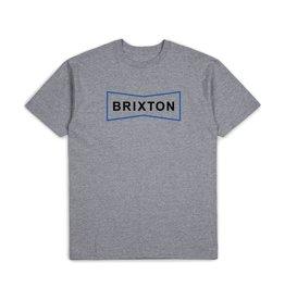 Brixton Wedge Tee - Heather Grey
