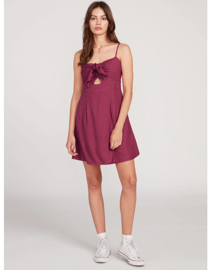 Volcom No She Didn't Dress - Berry