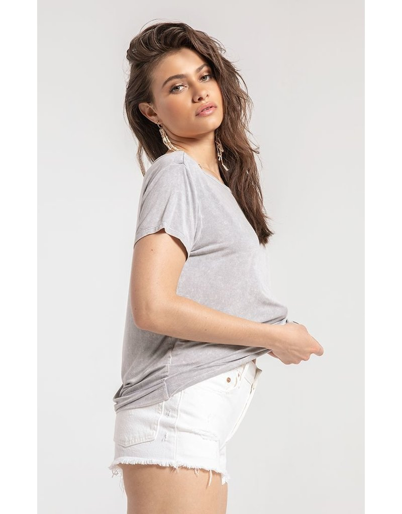 White Crow Samantha Top - Grey