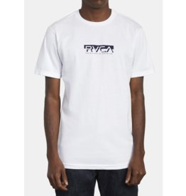 RVCA Blocked Tee - White