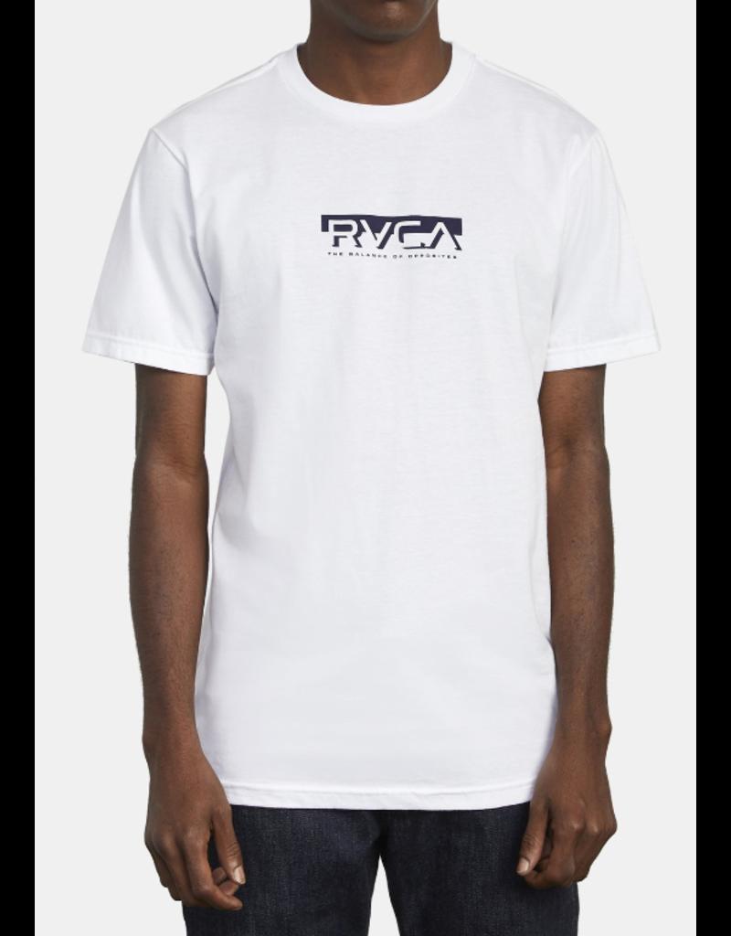 RVCA Blocked Tee - White