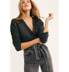 Free People Lola Tee - Black