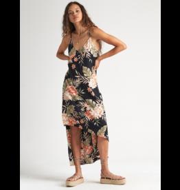 Billabong The Best Dress - Black Floral