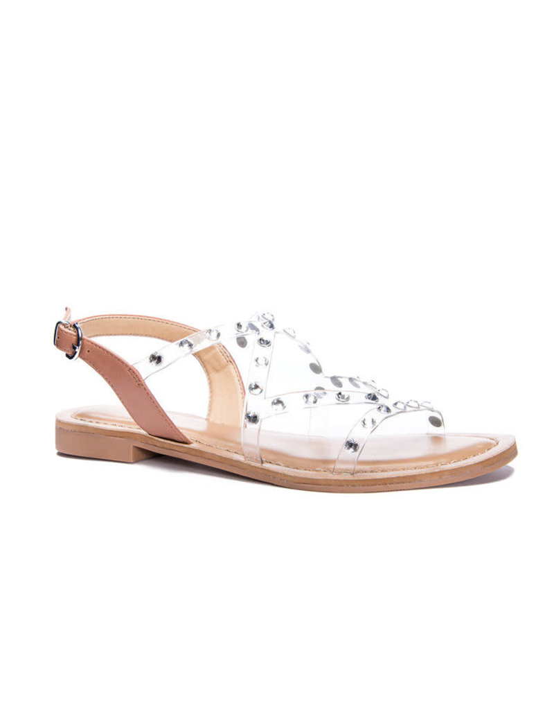 Chinese Laundry Candi Lotto - Nude/Clear