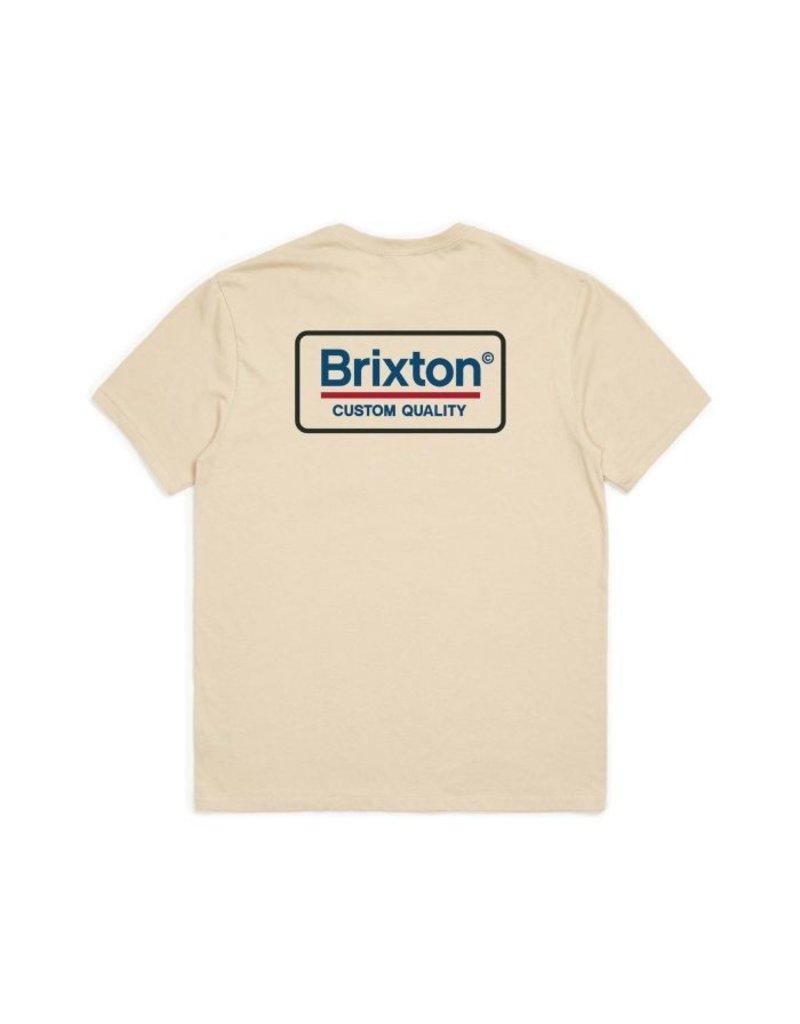 Brixton Palmer Tee - Vanilla