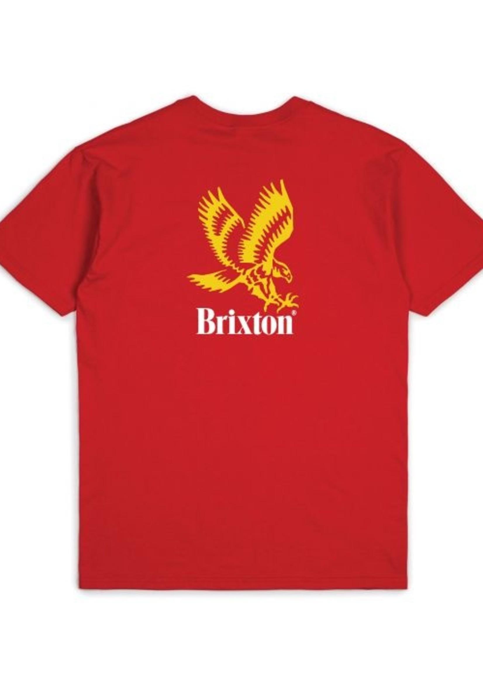 Brixton Descent Tee - Red