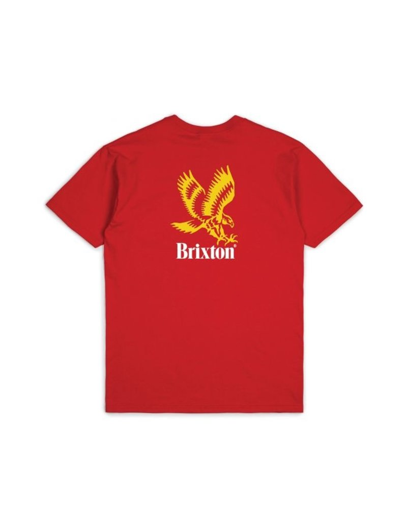 Brixton Descent Tee - Red