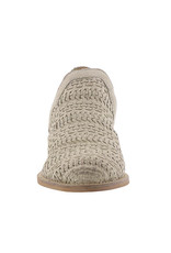 Very Volatile Bondi Woven Ankle Bootie - Off White