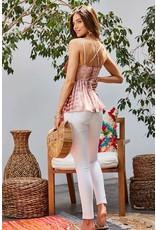 Bralette Tie Dye Top - Auburn