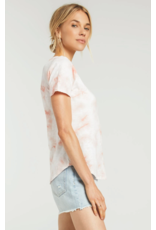 Z Supply Ultimate Tie Dye Tee - Coral Almond