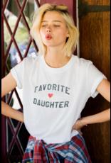 suburban Riot Favorite Daughter - White
