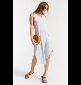 Cloud Tie Dye Dress - Light Blue