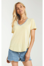 Ridley Triblend Tee - Yellow