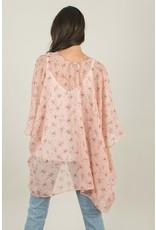 Kimono - Blush Mini Floral