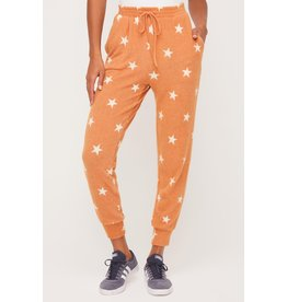 Lush Star Lounge Pants - Terra Cotta