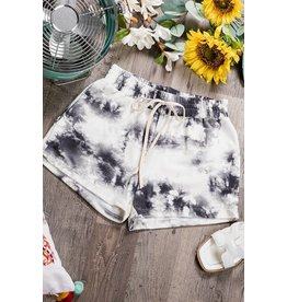 Tie Dye Short - Off White