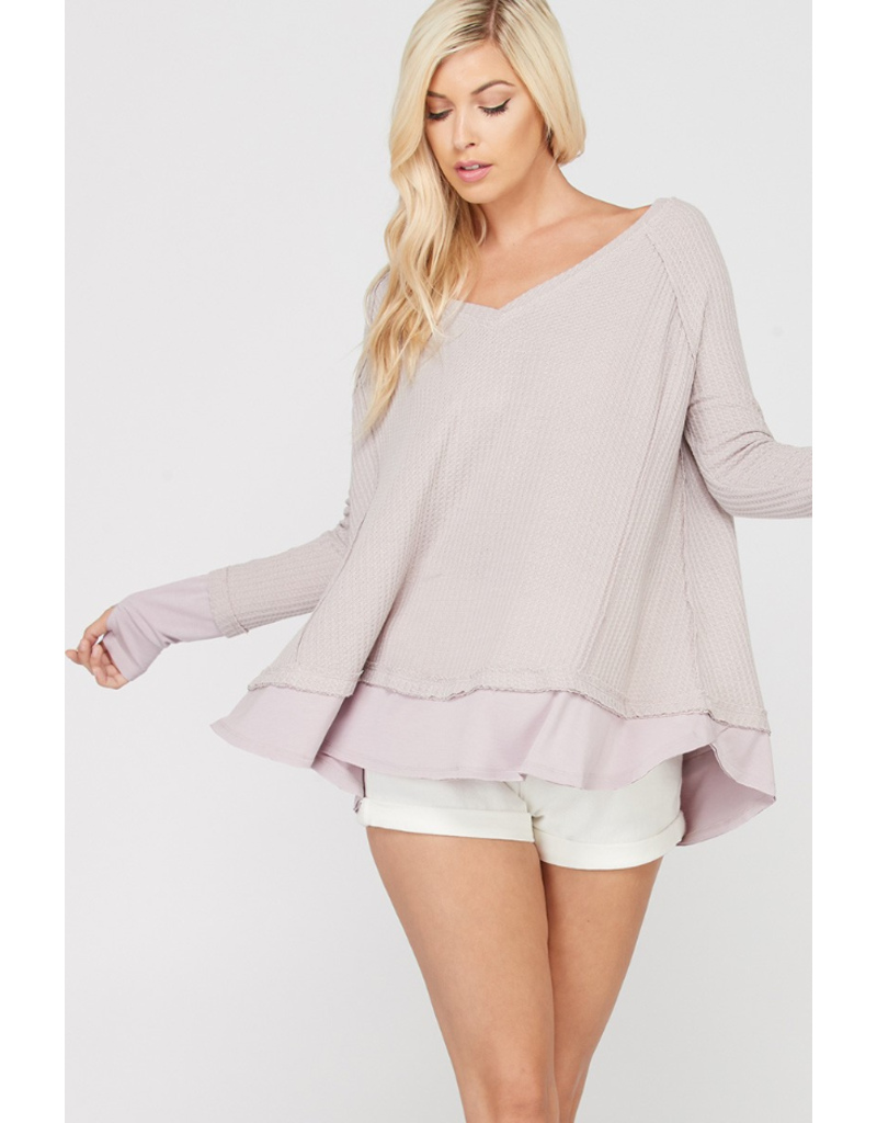 Layered Thermal - Lavender