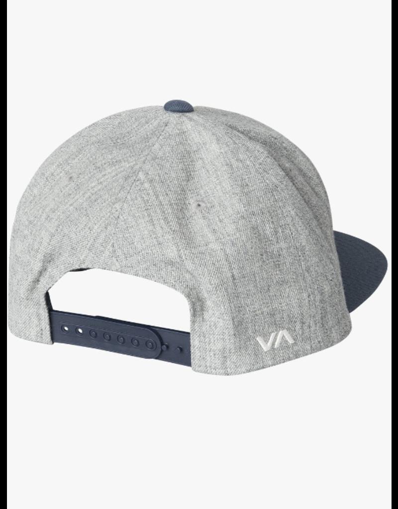 RVCA Twill Snapback - Grey Blue
