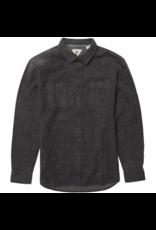 Vissla Shaver L/S Flannel - Black