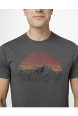 10 Tree Sunset Classic T-shirt - Heather Grey
