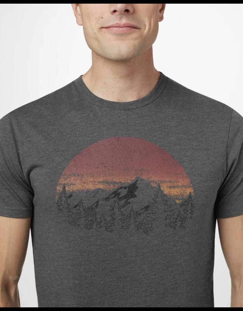 10 Tree Sunset Classic T-shirt - Heather Grey