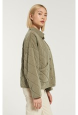 Z Supply Maya Quilted Jacket - Olive
