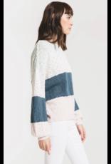 Rag Poets Monterosso Sweater - Teal