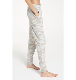 Z Supply Cozy Camo Jogger - Sage Mist