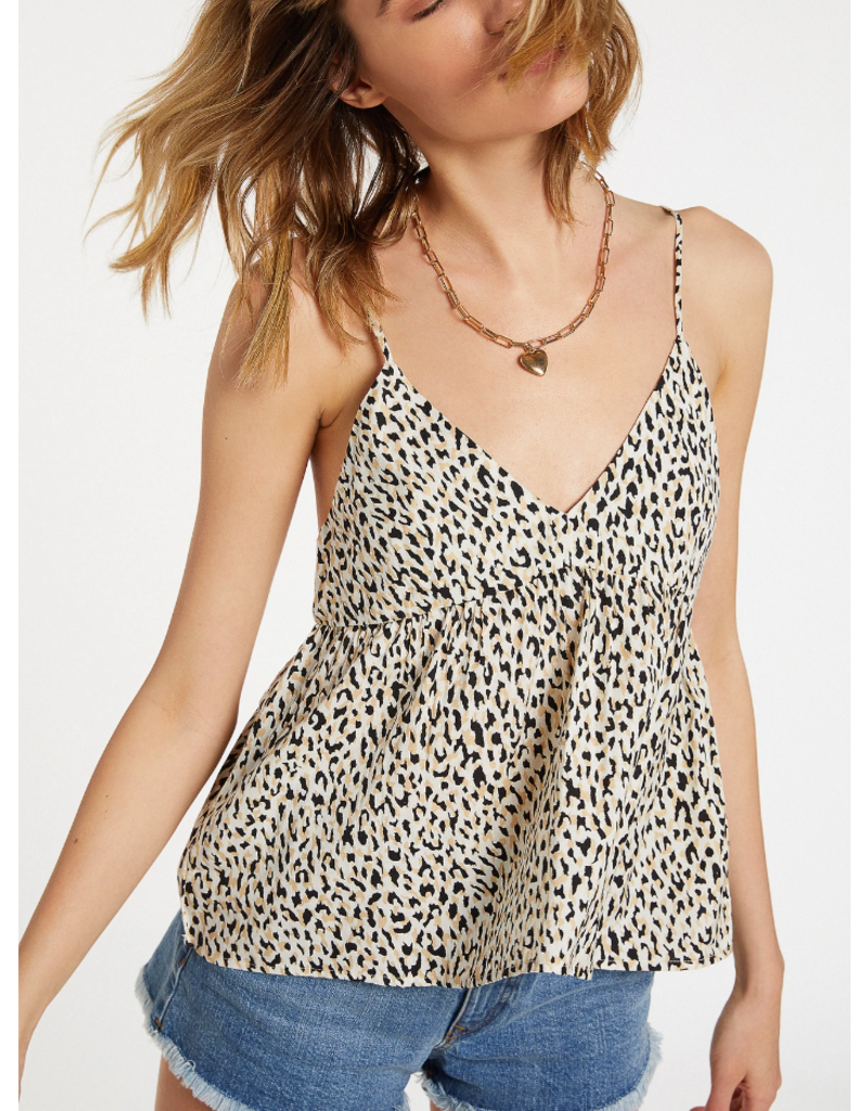 Volcom Sorry Babe Cami - Leopard