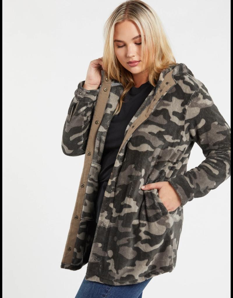 Volcom Under Wrapz Jacket - Camo