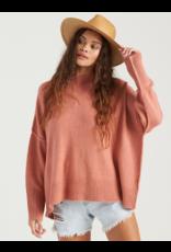 Billabong Endless Days Sweater - Dusty Rose