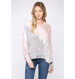 Die Dye Light Sweater - Mauve