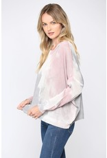 Die Dye Light Sweater - Mauve