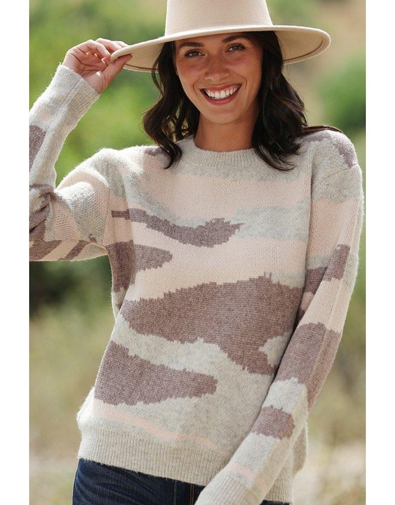 Desert Camo Sweater
