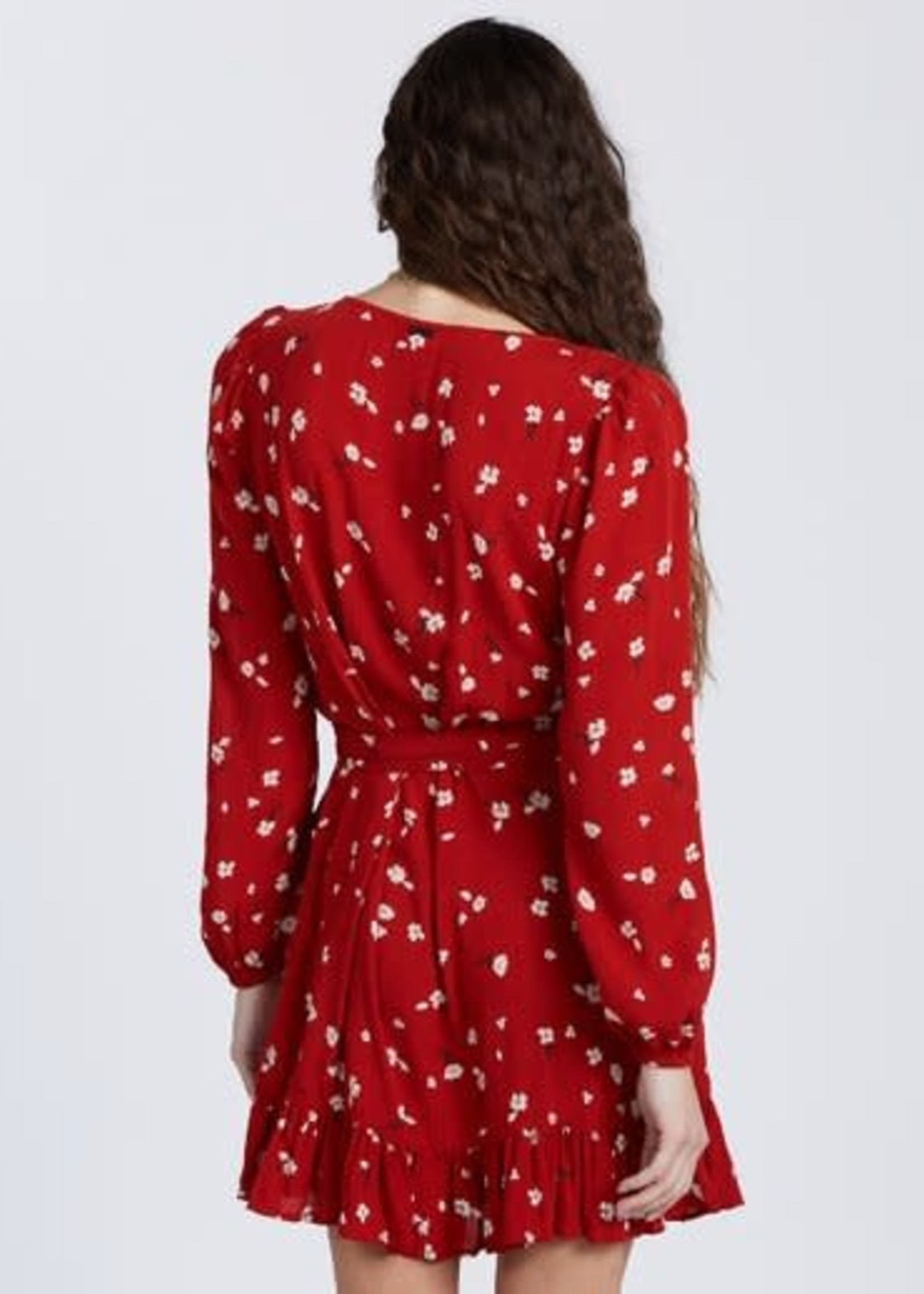 Billabong Lovin You Wrap Dress - Paprika