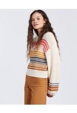 Billabong Seeing Stripes Sweater - Cream