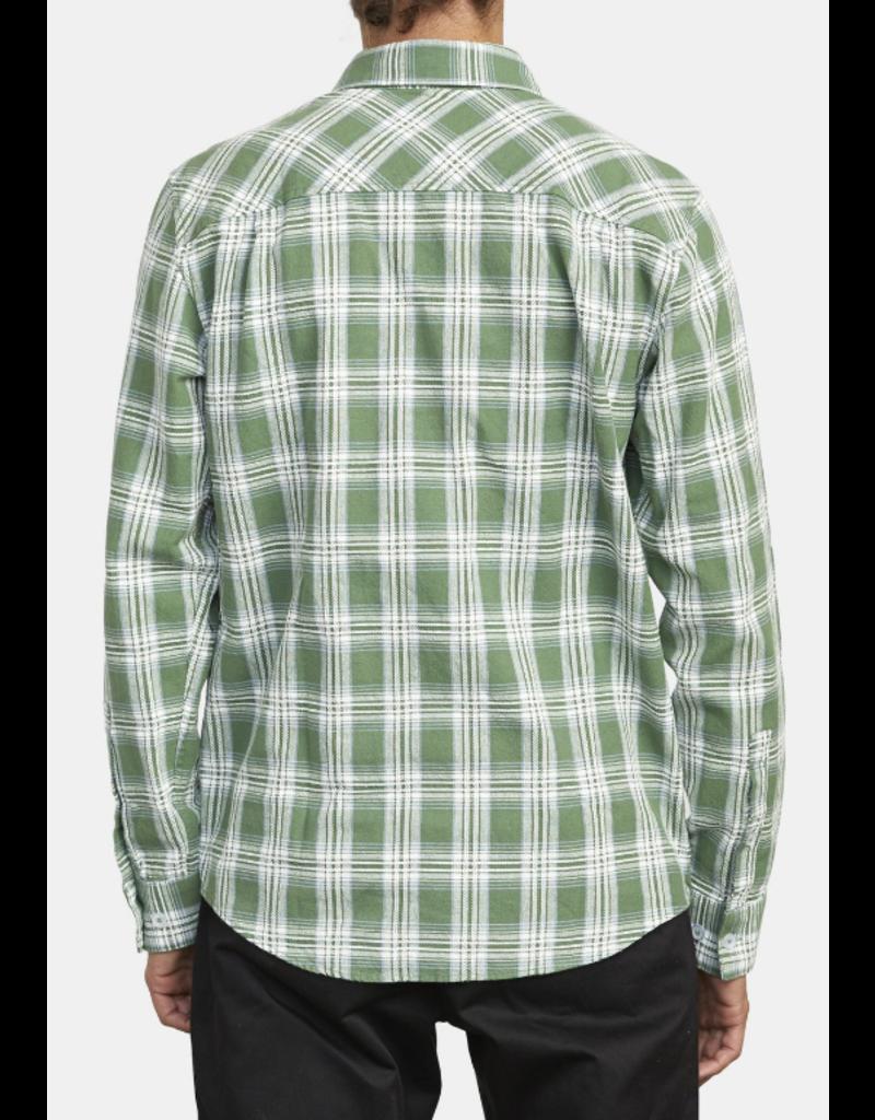 RVCA That'll Work Flannel - Green