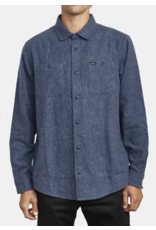 RVCA Harvest Flannel - Moody Blue