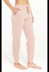 Z Supply Lazy Days Fleece Jogger - Pink