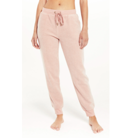 Z Supply Lazy Days Fleece Jogger - Pink