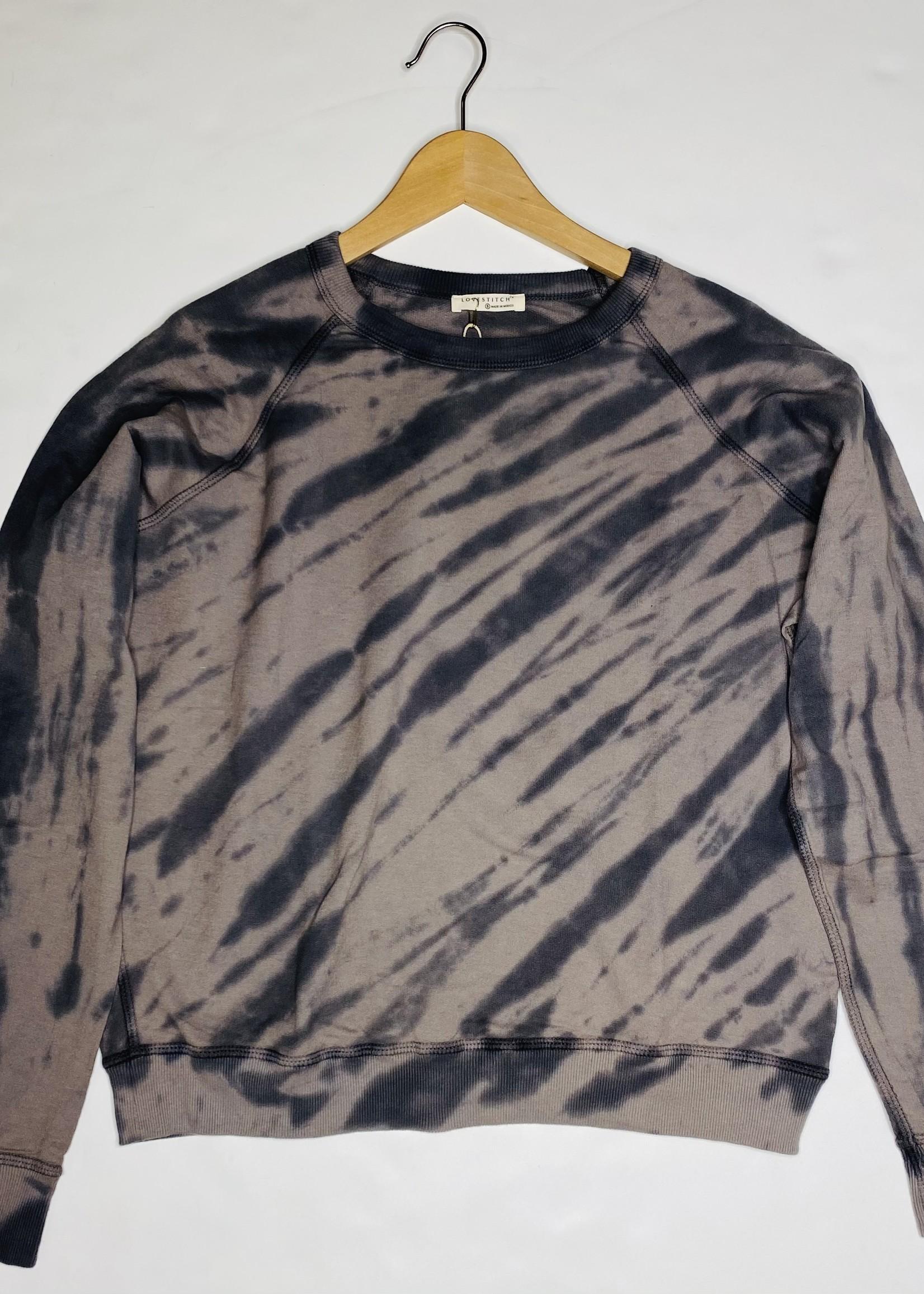 Zebra Tie Dye Sweatshirt